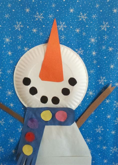 snowman craft projects looking up 2 snowmen
