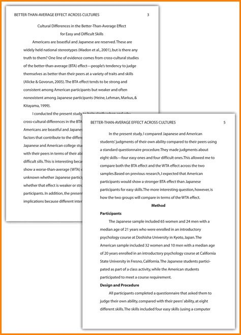 apa format paper template writing an essay in apa format najmlaemah