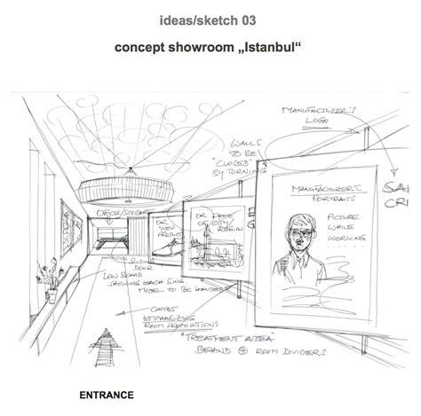 Balcony Design bild 3 sketch interior showroom istanbul serving ideas