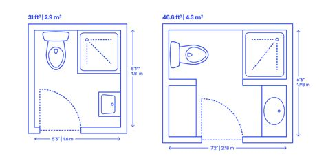 corner shower bathrooms dimensions drawings dimensions