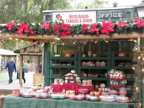 knotts berry farm christmas crafts fair