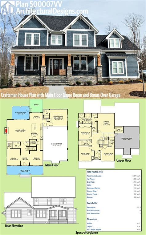 4 bedroom craftsman house plans best 25 craftsman house plans ideas on pinterest