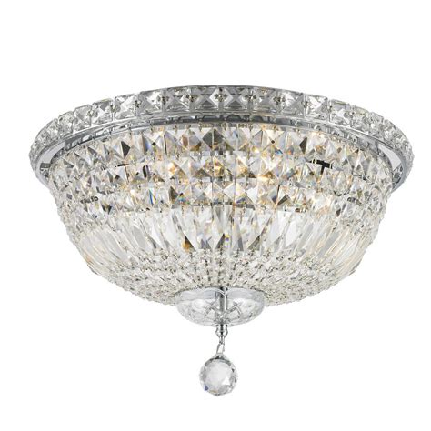 crystal clear light bulbs worldwide lighting empire collection 3 light chrome and