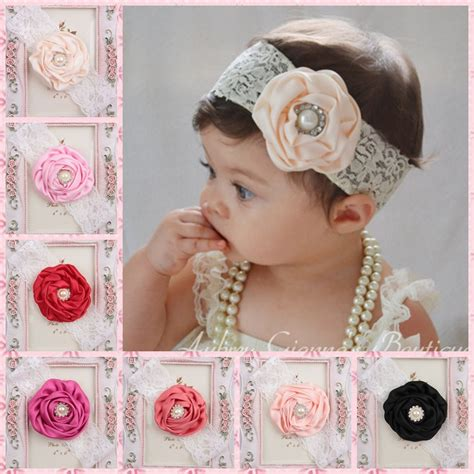 accessories newborn baby headband hair by 2015 newborn baby hair accessories elastic lace hair band