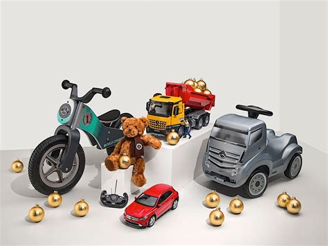 mercedes gifts mercedes tempts santa with a selection of gift ideas