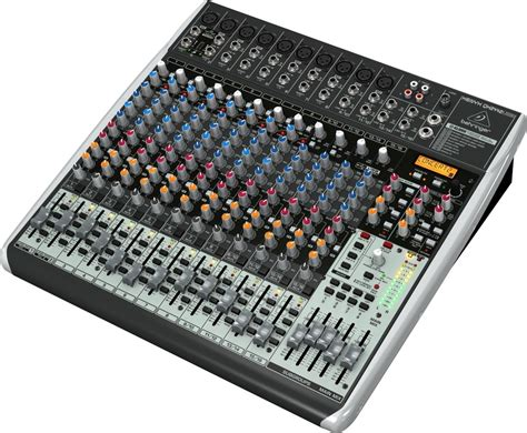 Mixer Audio Behringer 16 Chanel behringer qx2442usb xenyx usb mixer 16 channel zzounds