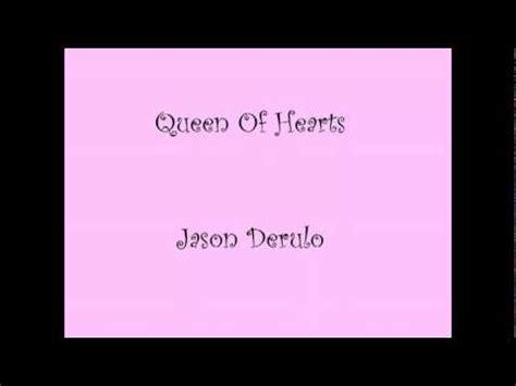jason derulo queen of hearts lyrics jason derulo queen of hearts lyrics new youtube