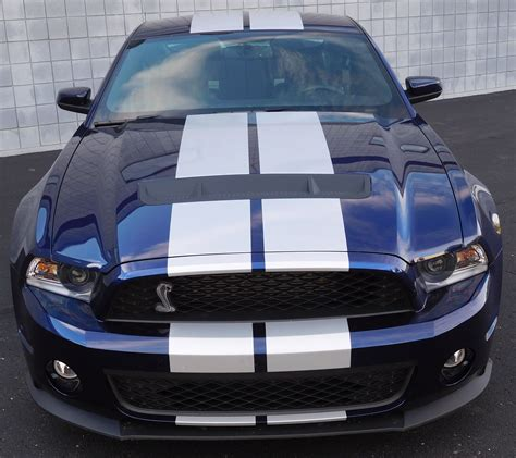mustang cobra gt 500 2011 mustang cobra gt500 blue white for sale