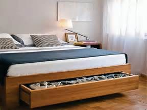 Bed Frame With Shoe Storage Finding Storage In Small Spaces Paul S Floorspaul