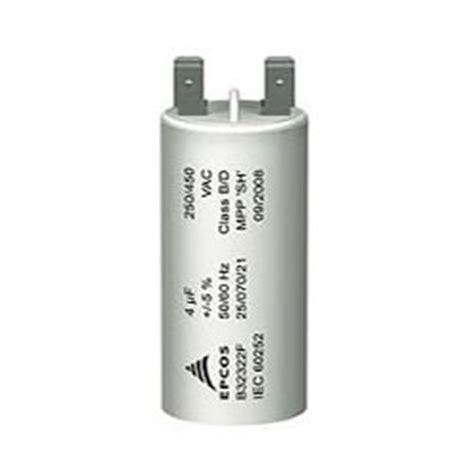 motor monofasico capacitor permanente capacitor permanente epcos 30 mf 380v