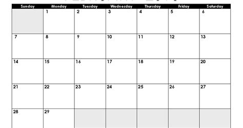 search results for printable pocket calendar template