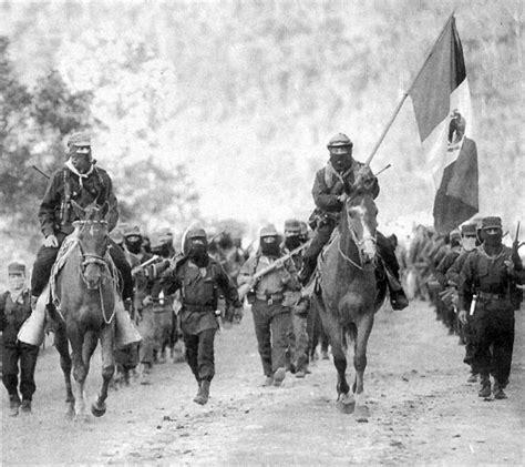imagenes del movimiento zapatista de liberacion nacional zapatismo revolucion mexicana surgimiento de partidos