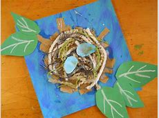 The Elementary Art Room!: Mixed Media Nests Elementary Art Projects For Kids