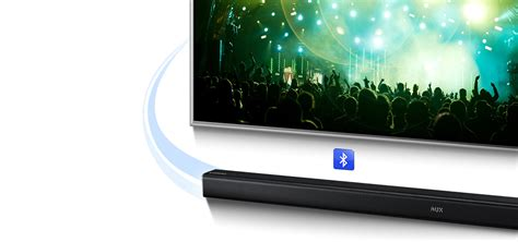 Tv Samsung Soundbar samsung hw h450 wireless soundbar for 40 inch plus tvs samsung uk