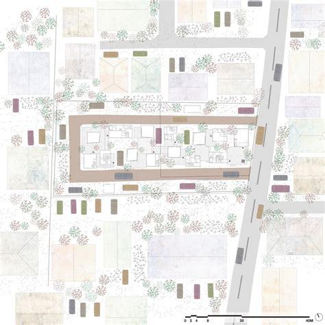 Architect Plans gallery of dragon court village eureka 39