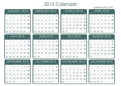 Calendar World 2015 2015 Calendar Free Printable 2015 Calendar Free Calendar