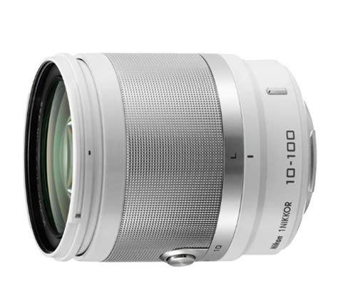 Nikon 1 Nikkor Vr 10 100mm F 4 5 5 6 Lensa Kamera Silver 1 nikon 1 nikkor 10 100mm f 4 0 5 6 vr white