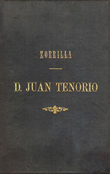 libro don juan tenorio english don juan tenorio drama religioso fant 225 stico en dos partes por jos 233 zorrilla edici 243 n de