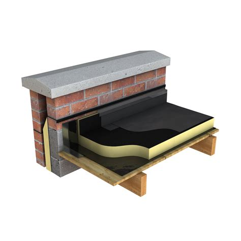 Flat Roof Gradient Torch On Felt Gradient Flat Roof Insulation