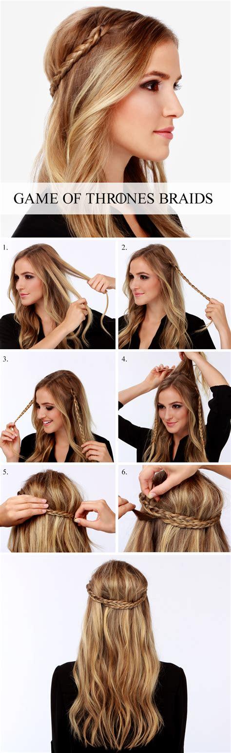 hairstyle games online play hairstyles lulus how to game of thrones braid tutorial lulus com
