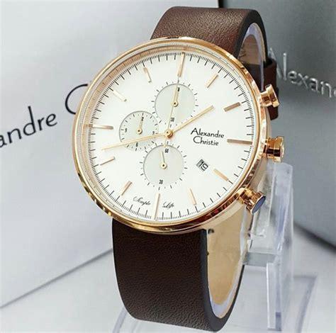 Jam Tangan Wanita Alexandre Christie Tali Kulit jam tangan alexandre christie 6415 tali kulit harga murah
