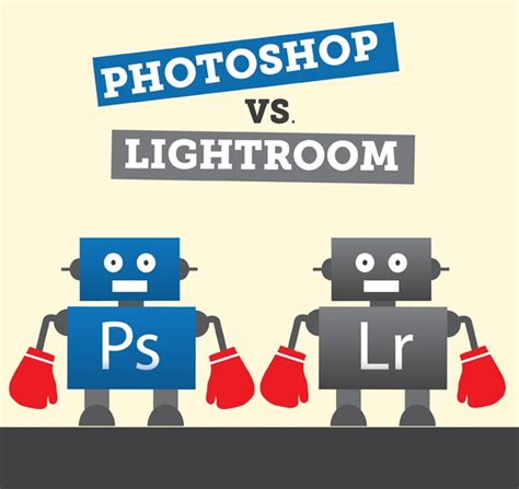 vs photoshop photoshop vs lightroom and the winner is