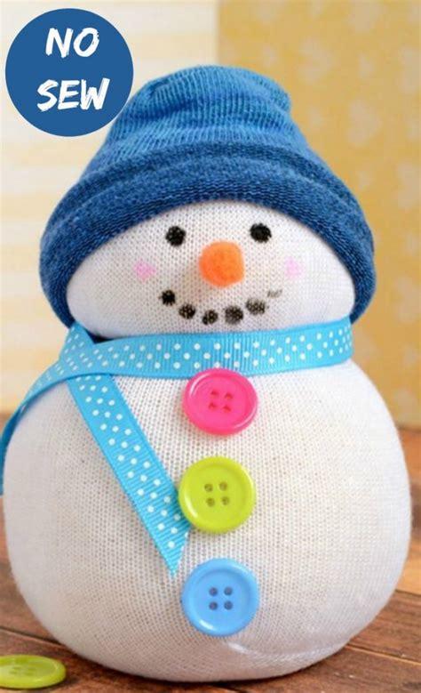 diy sock snowman ornament diy sock snowman my honeys place