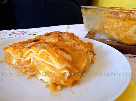 ricette cucina zucca lasagne con la zucca ricetta light cucina italiana