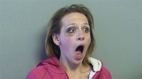Why is she shocked? Tulsa woman's mugshot goes viral