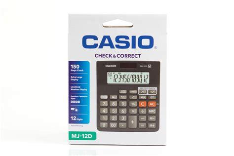 Sale Kalkulator Desktop Casio D 40l jual casio mj 12d jual casio desktop mj 12d di kalkulator grosir