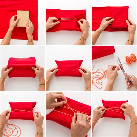 wrapping a gift this might be the best two in one gift wrap hack ever brit co