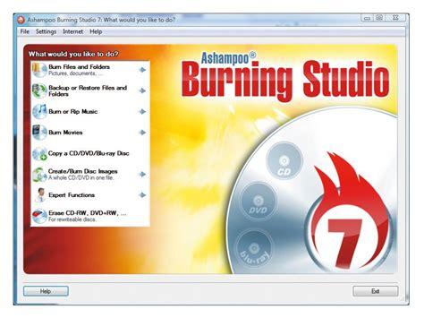 free studio ashoo burning studio 7 2017 free for windows