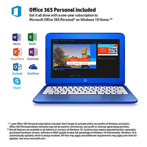 Hp Microsoft Office hp 11 6 quot blue notebook w 32gb hd 2gb ram windows