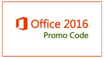 office 2016 promo code publishes new suite of incentives
