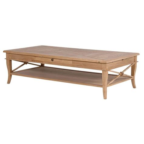 weathered oak coffee table rathwood