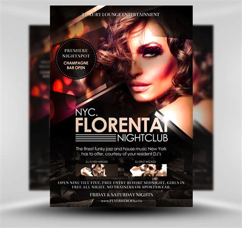 free club flyer templates geocvc co gt gt 26 pretty club