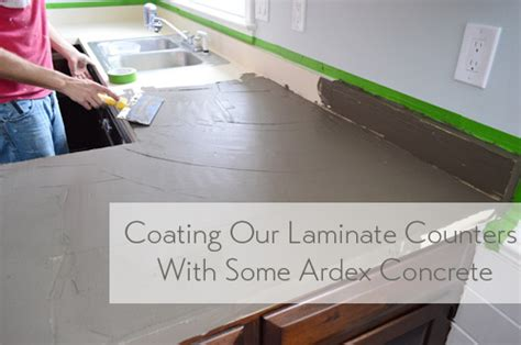 Second Hand Kitchen Furniture by Trying Our Hand At Diy Ardex Concrete Counters Young