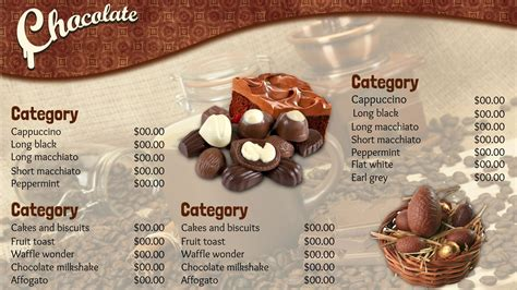 Menu Dan Coffee Toffee template gallery