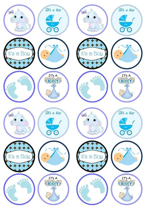 Baby Shower Topper by Cupcake Toppers Baby Shower Buscar Con детское
