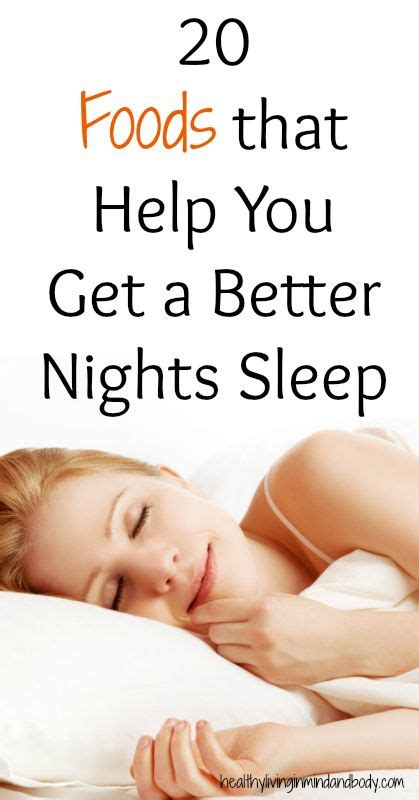 8 Snacks That Help You Sleep Better by 20 Foods To Help You Sleep Better Myideasbedroom