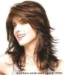 med hair cuts feather back sides or layer look medium length layered hairstyles hairstyles and feather