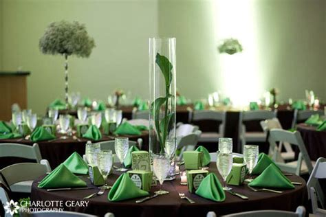 beautiful table settings green and brown tana s blog casual wedding attire is synonymous to