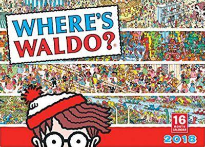 where s waldo 2018 wall calendar ca0171 7 49