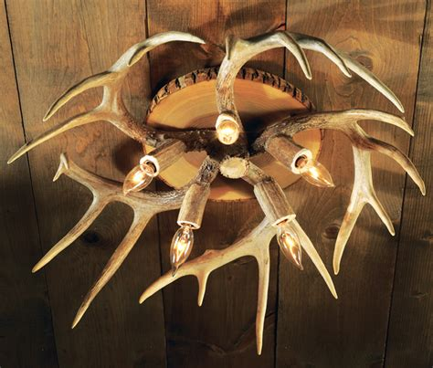 antler chandelier ceiling fan antler ceiling light 5 light