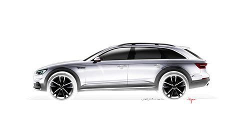 quattro sketchbook b9 audi a4 allroad quattro is a go anywhere a4 avant image