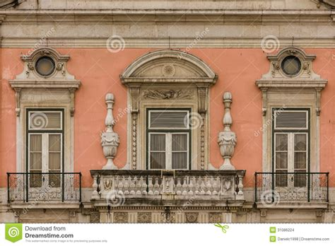 Mediterranean Home Plans baroque balcony and windows foz palace lisbon portugal