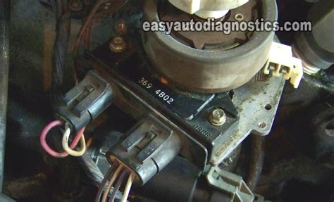 part    test  gm distributor mounted ignition module