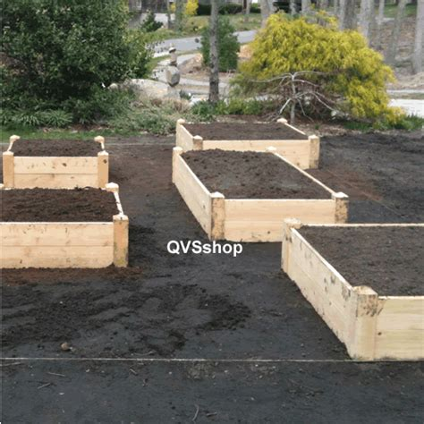 Landscape Fabric In Raised Beds 2m X 50m Garden Landscape Membrane Stop Fabric Sheet