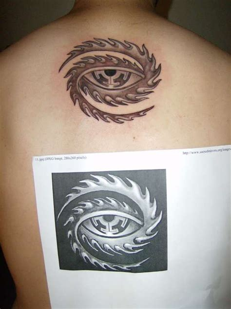 tool eye tattoo collection of 25 tool eye design