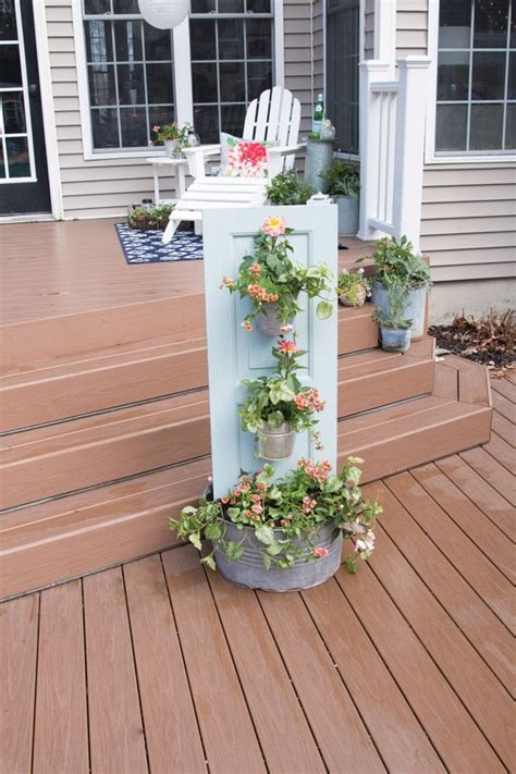 outdoor vase planters three tiered outdoor planter 183 extract from diy rustic